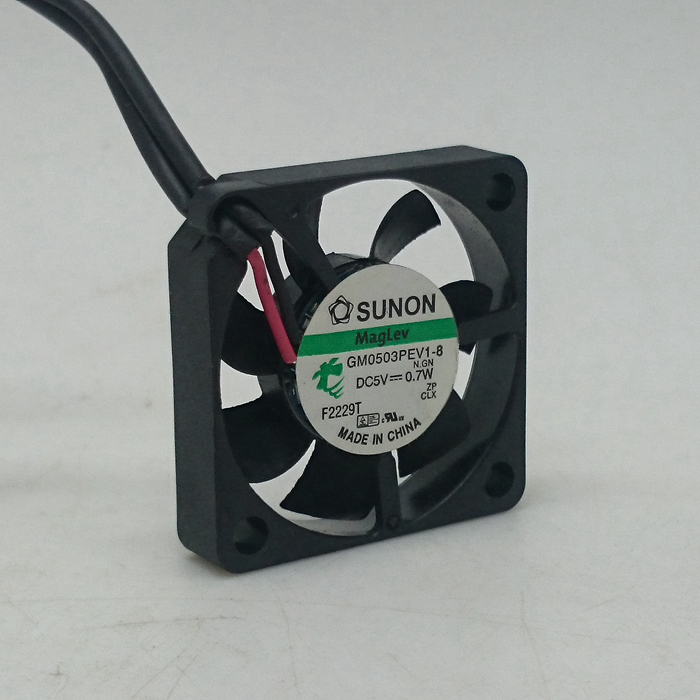 SUNON GM0503PEV1-8 DC 5V 0.7W 30x30x6mm 3cm Thickness Slim Brushless Cooling Fan