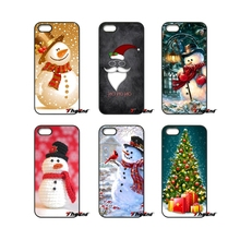 For Samsung Galaxy Note 2 3 4 5 S2 S3 S4 S5 MINI S6 S7 edge Active S8 Plus Cute Christmas Gifts Santa Claus Snowman Phone Case
