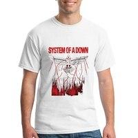 Hip Hop Tee T Shirt Gildan Crew Neck 100 Cotton System Of A Down Soad Short