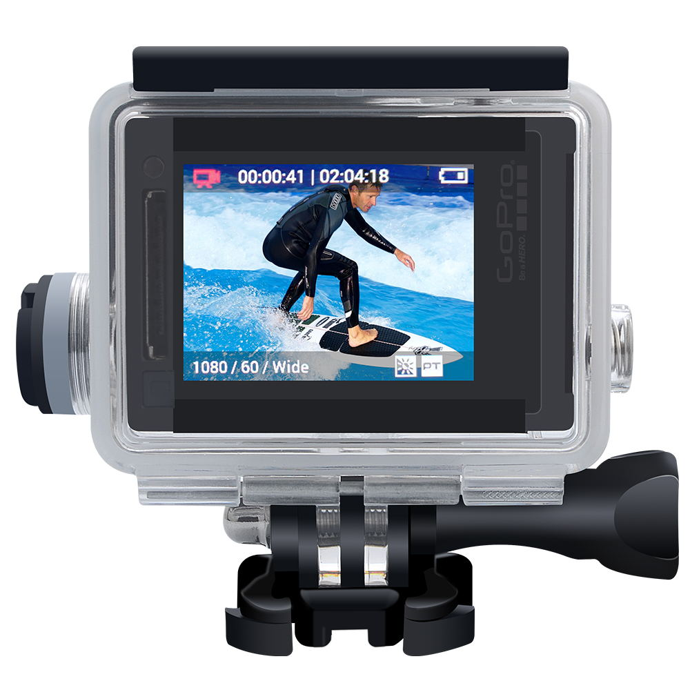 Image 4 - Suptig Action Camera Accessories Motocycle Chargering Waterproof Case for Gopro Hero 4 / 3+ Charger shell Housing + USB Cable-in Sports Camcorder Cases from Consumer Electronics