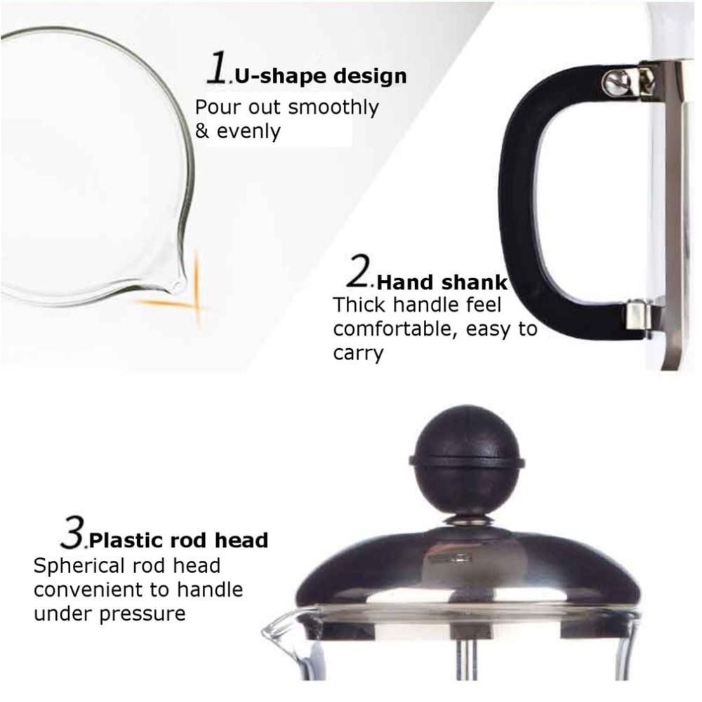 French press coffee maker 3