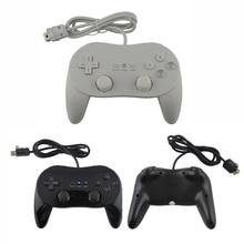 Для Wii классического второго поколения ручка Проводной игровой контроллер Pro Геймпад Shock Джойстик Джойстик для Nintendo Wii