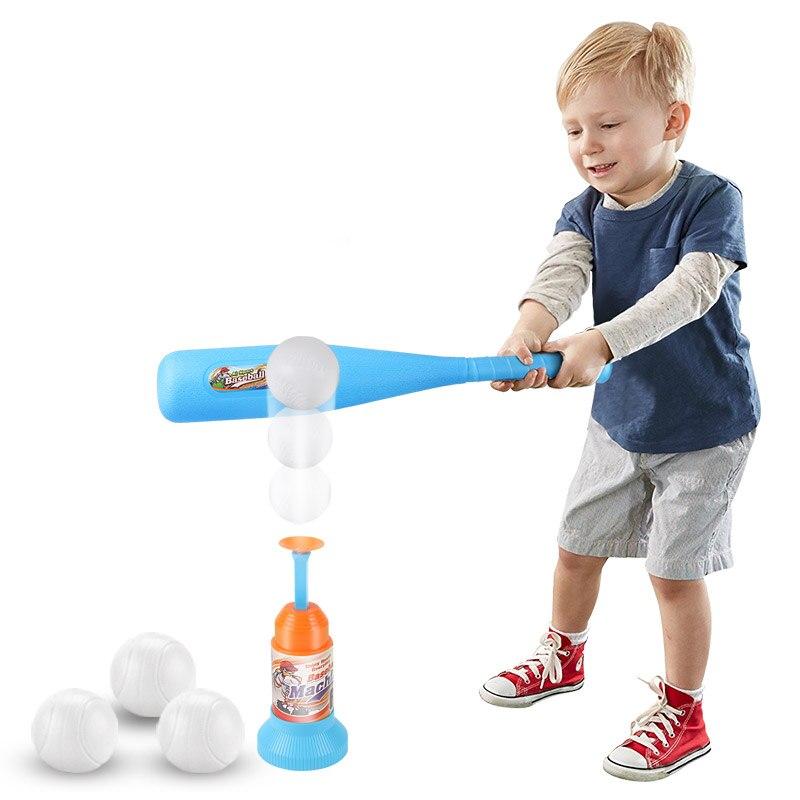 Детский мягкий безопасный бейсбольный набор, игрушки для детей, забавные спортивные игры, уличные Игрушки для мальчиков, непромокаемые бей
