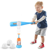 Kids Soft Safety Baseball Set Toys For Children Funny Sports Play Games Outdoor Toy Boy Crashproof Baseball Parent child Games