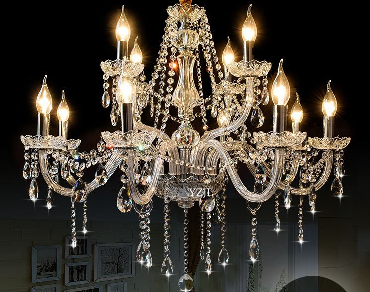 Living Room Chandelier Crystal Minimalist Crystal