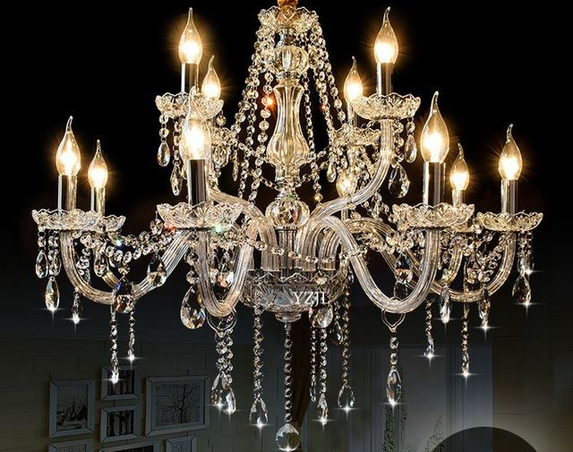 Living Room Chandelier Crystal Minimalist Led Bedroom Clothing Beauty Salon Lighting