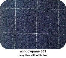 Men'S Wardrobe Essentials Slim Fit Windowpane Suit Tailor Made Navy Blue Windowpane Check Suits For Men,Elegant Business Suit