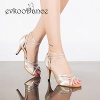 Size US 4 12 Dancing Shoes Heel Height 8 5 Cm Satin Salsa Khaki Comfortable Satin