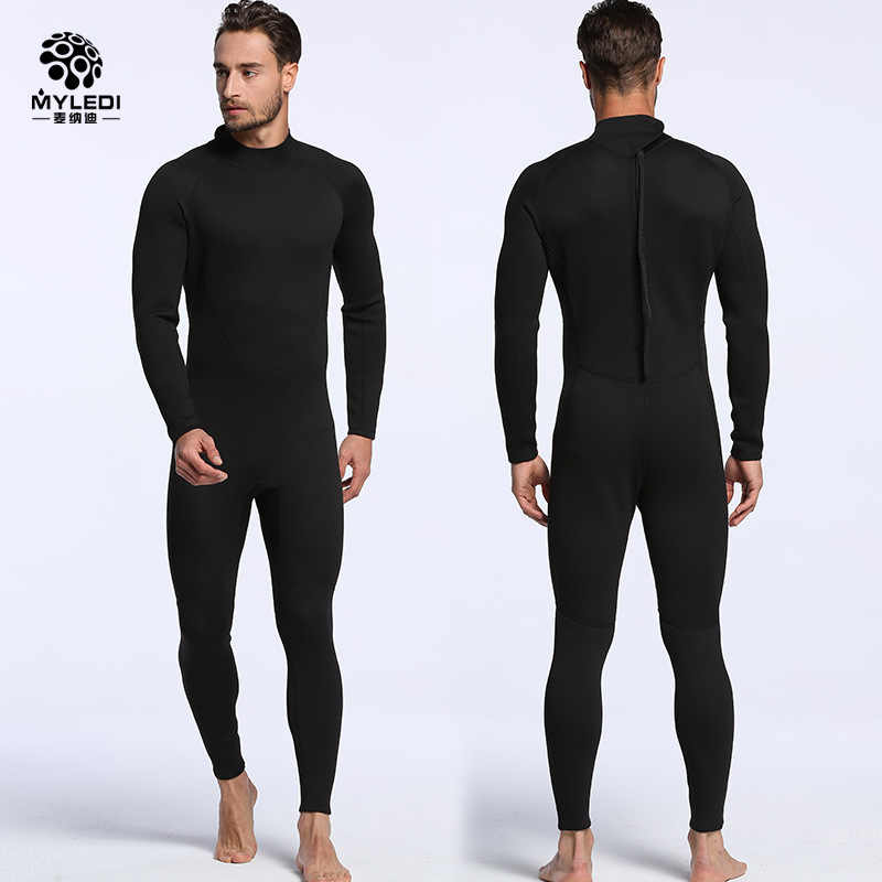 f2369da5db ... Men Women s Diving Suit 2mm Full Body Wetsuit S-XXL Swimming Surfing  Diving Snorkeling Suit ...