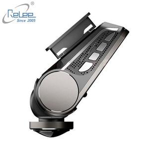 Image 4 - Relee 자동차 DVR 파노라마보기 무선 카메라 360 학위 자동차 대시 캠 1080 P 나이트 비전 비디오 녹화 WIFI 카메라