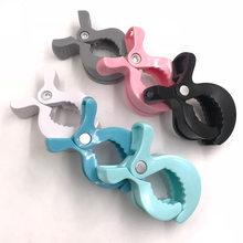 1pcs Baby Car Seat Accessories Toy Lamp Pram Stroller Peg To Hook Cover Blanket Clips(China)