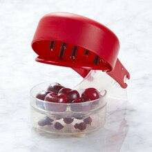 Kirsche Oliven Pitter, Kirschkern, entfernung Knochen 6 Kirschen Schnelle Enucleate Entfernung von Knochen Küche Gadget Obst Werkzeug