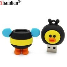 Bear flash drive pendrive 4gb 8gb 16gb USB 2.0 Memory Stick drive