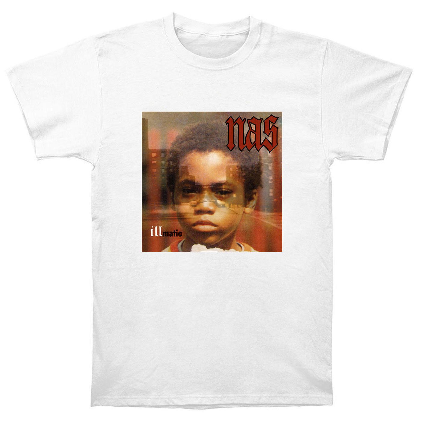 Nas Illmatic It Was Written I Am Stillmatic XX Gods Son Ill Ether T Shirt Printing Short Sleeve Casual O-Neck Cotton T-shirt