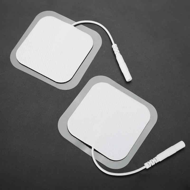 50*50 мм электродные накладки самостоятельно пластыревый заменитель Tens Нетканая ткань физиотерапия ReusableTENS блок патчи Pad messager