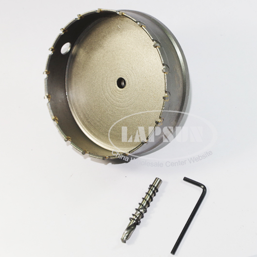 1pcs 115mm Big Size Tct T C T Hole Saw Steel Carbide Tip Drill Bit Kit Cutter Tool For Metal Wood Plastic Alloy