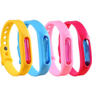 Silicone Wristband Bracelet Anti-Mosquito-Band Environmental-Protection Safe Summer