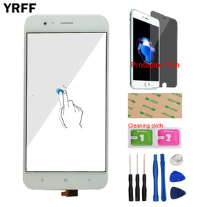 Image 3 - Touch Screen Panel For Xiaomi Mi A1 MiA1 MDG2 Touch Screen Digitizer Panel Front Glass 5.5 Mobile Protector Film Adhesive