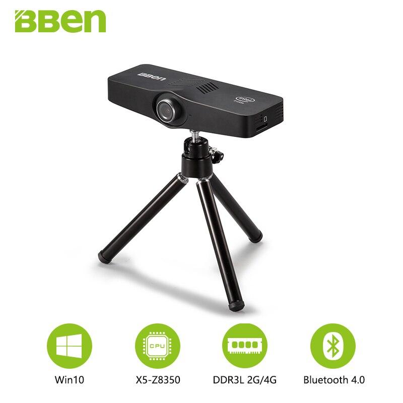 Bben C100 Mini PC Windows10 TV Box Intel Cherry Trail Z8350 Quad Core 2G/32G , 4G/64G 3PM Camera Bluetooth Wifi