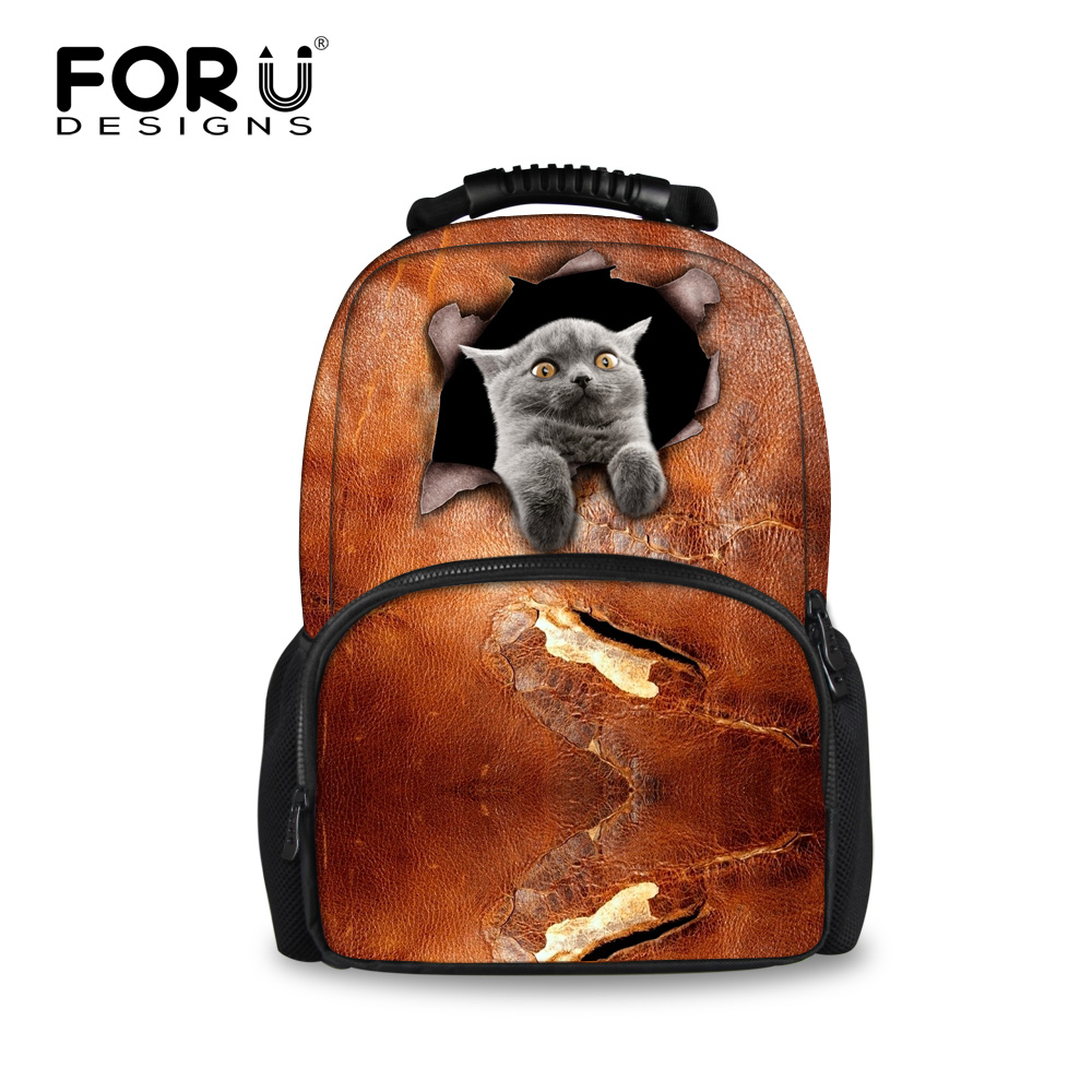 a1ceaedab848 Preppy Children Student Book Bags For Teenagers Girls Cute Dog British  Shorthair Cat Printed Kids Schoolbags Women Casual Bags-in School Bags from  Luggage ...