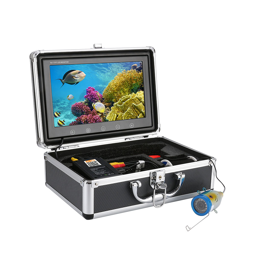 """10"""" Inch 720P 30M 1000tvl Underwater Fishing Video Camera ,HD Wifi Wireless For IOS Android APP Supports Video Record"""