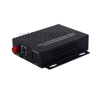 Image 4 - 1CH טלפון כדי סיבים אופטי ממיר PCM קול מעל סיבים אופטי מדיה ממיר כדי סיבי 1ch 100M Ethernet