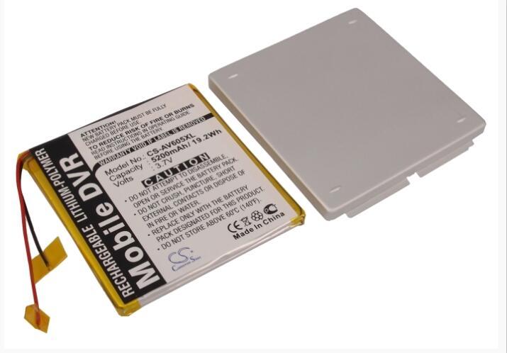 Cameron Sino 5200 mAh batterie pour ARCHOS AV605 120 GB AV605 Wifi 120 GB MP3, MP4, PMP batterie