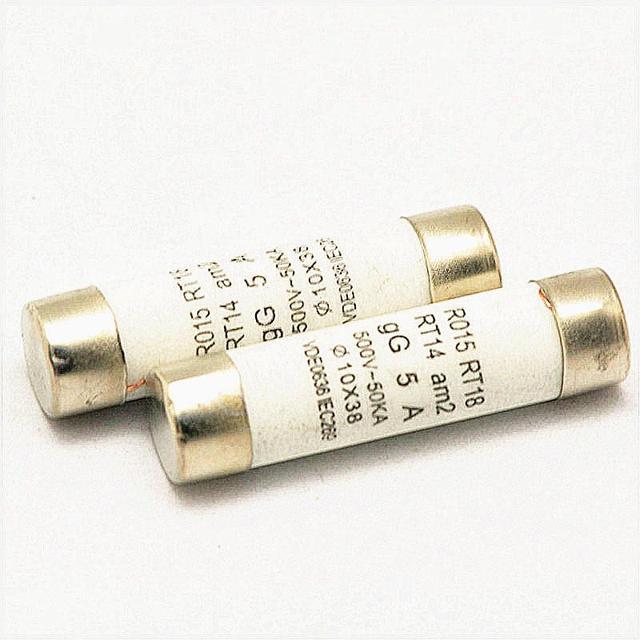 20pcs Ceramic fuse  10x38mm, 10*38 fuse, fuse 10*38mm, Fuse 2A / 5A / 10A / 20A / 32A 500V Free shipping