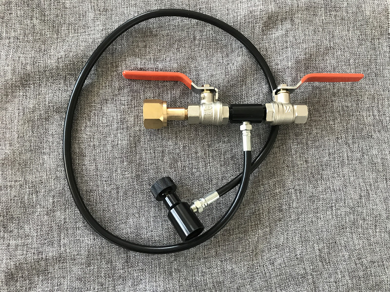 Soda Stream CO2 Tank Bottle Fill Refill Station Kobalt Dual Valve with G1 2 Thread
