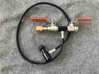 Soda Stream CO2 Tank Bottle Fill Refill Station Kobalt Dual Valve with G1/2 Thread