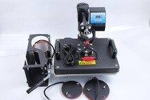 Combo Envío libre uso de la máquina de transferencia de calor para las camisetas de impresión de prensa 4 en 1 DX401