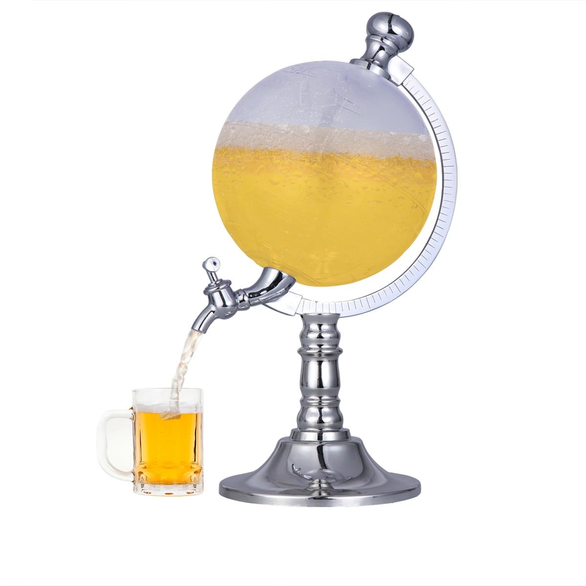 1.5L Mini Globe vin verseur casier à vin distributeur Barware bière boisson alcool coulée Machine barre outil