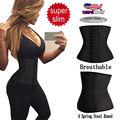 Mulheres de alta Qualidade Respirável Trainer Cintura de Vidro Cintura Tummy Cinturão Body Shaper Controle Underbust Corset Para Senhoras DP863093
