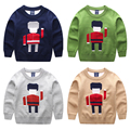 Baby Childen sweaters 2016 autumn & winter double layer cartoon sweaters o-neck pullover clothes boys girls tops wear