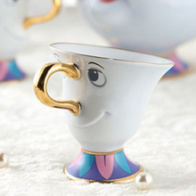 Limited Edition Beauty and the Beast Tea Cup Set Mrs Potts son : Chip Cups Coffee Lovely Xmas Birthday Gift