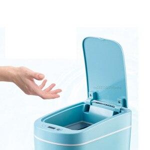 Image 5 - Youpin NINESTARS الذكية حاوية القمامة محس حركة السيارات ختم LED التعريفي غطاء القمامة 7L Ashcan صناديق Ipx3 مقاوم للماء