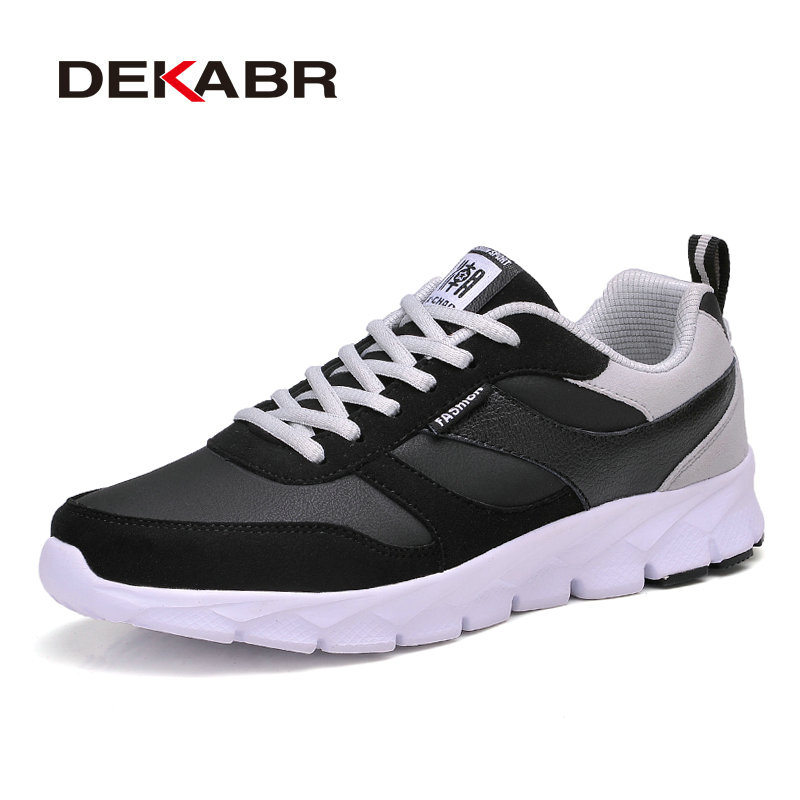 DEKABR Men Casual Shoes Summer Comfortable Top Fashion Lace-up Mixed Colors Flats Man High Quality Footwear Men Shoes Size 38~45 hot sale fashion comfortable men casual shoes soft genuine leather high top zipper thick sole heighten man shoes size 38 44