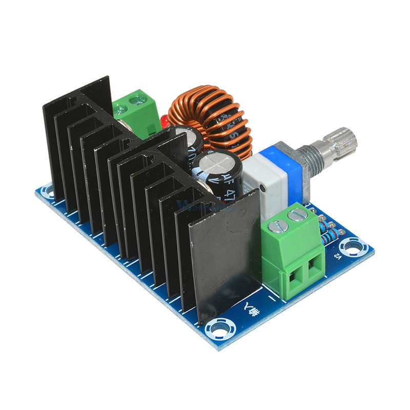 DC-DC Buck Converter 4V-40V 1.2V-36V 8A 200W Step-Down XL4016 Power Module
