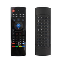 New Fly Air Mouse 2.4G Wireless Mini Keyboard Gyroscope IR Learing Remote Control For Mini PC Smart Android TV Raspberry Pi