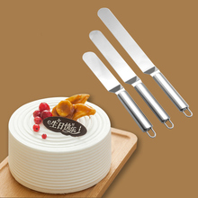 Spatula-Butter Cake-Decorating-Tool Fondant Baking Stainless-Steel 1 1pc 6/8/10-inches