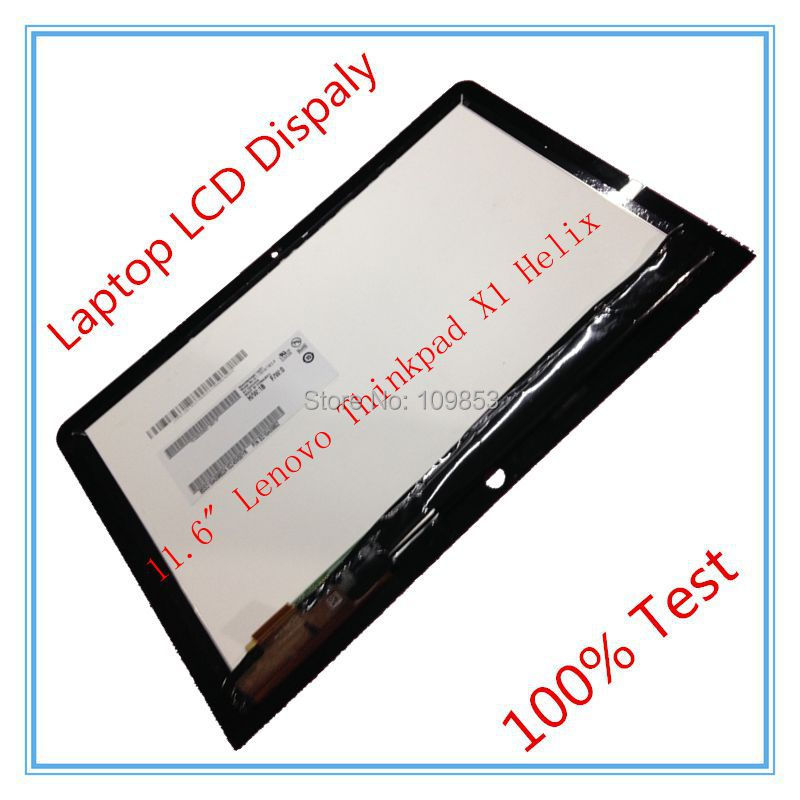 LCD Screen Panel B116HAT03.2 with Touch Screen LCD Digitizer Assembly For 11.6 Lenovo Thinkpad X1 Helix