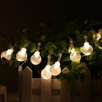 100 Lamp LED Christmas Lights Halloween Decoration New Year Led Lights Party Wedding Decoration 220V European Regulations Plug