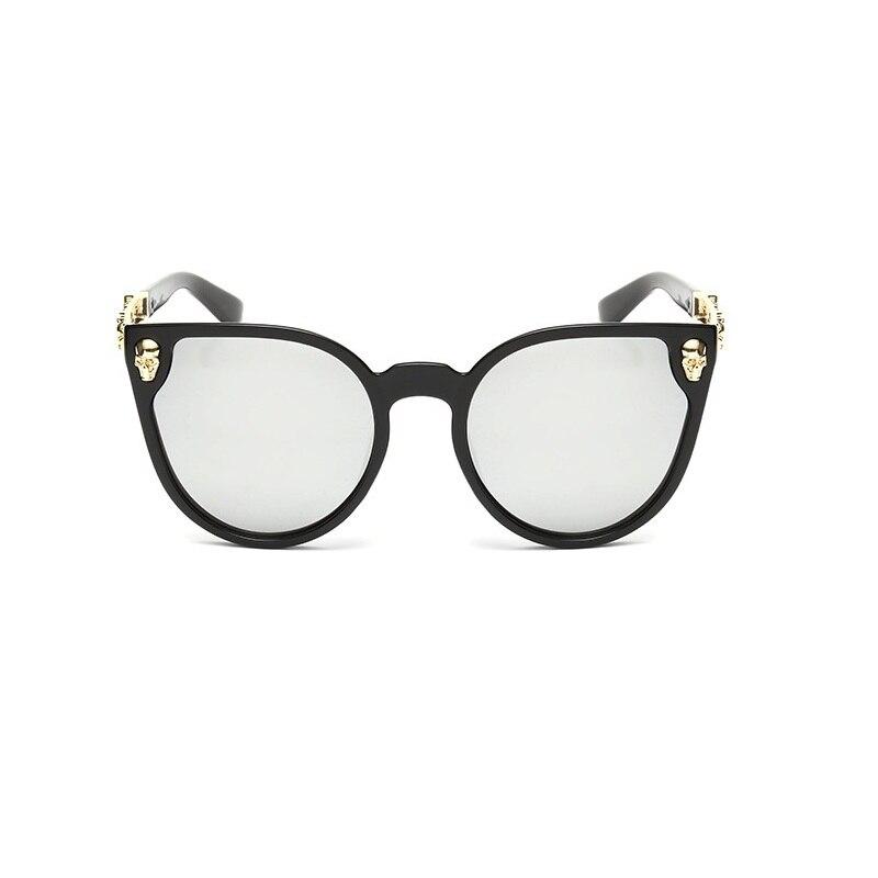 dc38d5f9e329 High Quality Vintage Skull Sunglasses Big Frame Metal Crave Sunglasses Brand  Designer Women Fashion Eyeglasses UV400 Eyewear-in Sunglasses from Apparel  ...