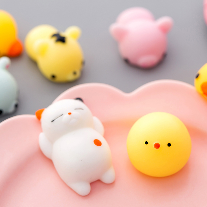 37Kind of style Soft cute animals decompress colorful stretch squishy reduce stress make people happy and relaxed 3
