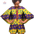 Custom Traditional African Clothing Women Jumpsuits Dashiki Women Playsuits Trumpet Sleeves Plus Size Women Clothes 6XL WY393