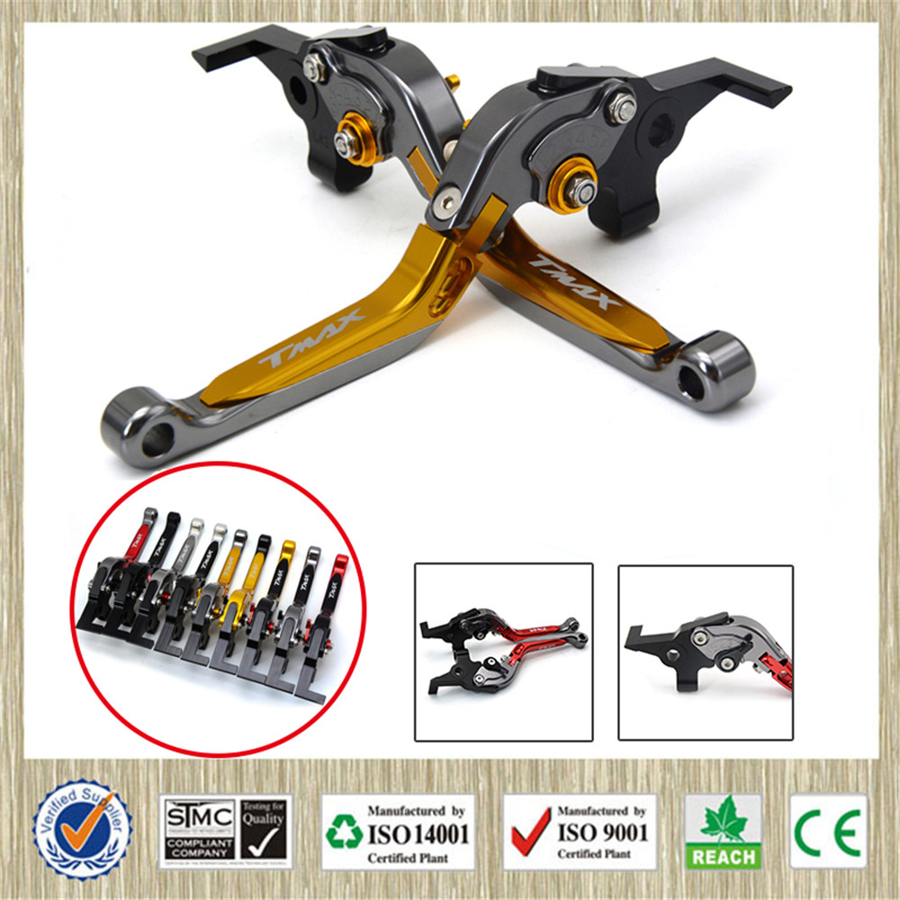 For Yamaha TMAX530 TMAX 530 CNC Motorcycle Front Brakes Clutch Levers Adjustable Lever 2008 2009 - 2011 2012 2013 2014 2015 2016 motorcycle adjustable foldable brakes clutch levers and handelbar girps for kawasaki z1000 2011 2016 2012 2013 2014 2015