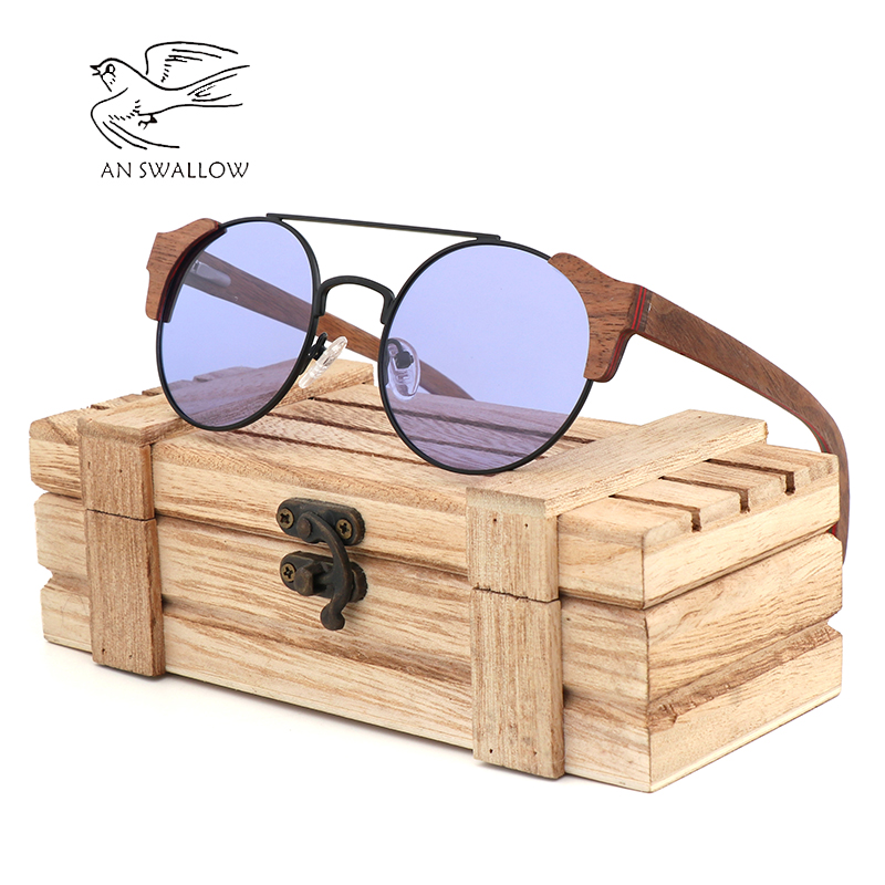 Men 39 s sunglasses latest bamboo and wood sunglasses fashion night vision goggles UV400 ultimate protection sunglasses women in Men 39 s Sunglasses from Apparel Accessories