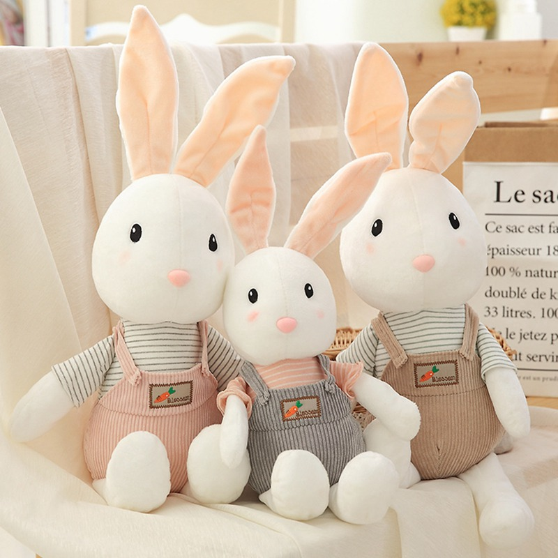 1pc 40 50 75cm 3 Patterns Long Eared Rabbit Brinquedos Cute Lucky