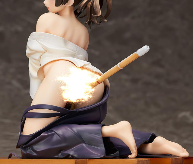 17CM Japanese sexy anime figure Native sexy girls Bayari kendo girls action figure doll medol collectible model toys for boys 3