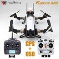 Форсаж 320 2.4 Г 7CH Walkera Дево 7 Передатчик Вертолет RTF дрон С Камерой OSD GPS CFP Модульная VS Бегун 250 Бесплатно корабль
